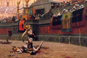 Pollice Verso, by Jean-Léon Gérôme, oil on canvas, 1872
