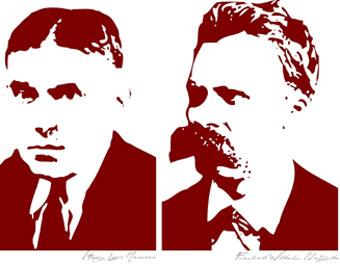 Mencken-and-Nietzsche
